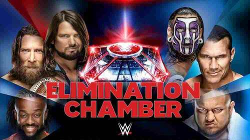WWE Elimination Chamber 17th February 2019 Full Show 480p Free Download