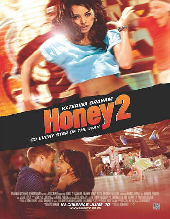 Honey 2 2011 Hindi Dual Audio 300MB BluRay 480p ESubs