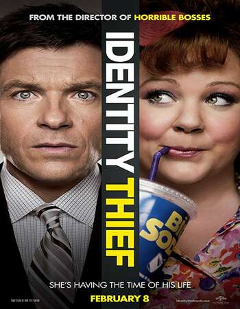 Identity Thief 2013 Hindi Dual Audio 350MB UNRATED BluRay 480p ESubs