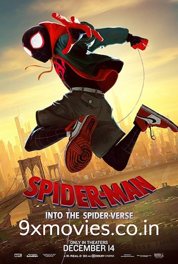 Spider-Man Into the Spider-Verse 2018 Dual Audio Hindi 720p HDRip 850MB