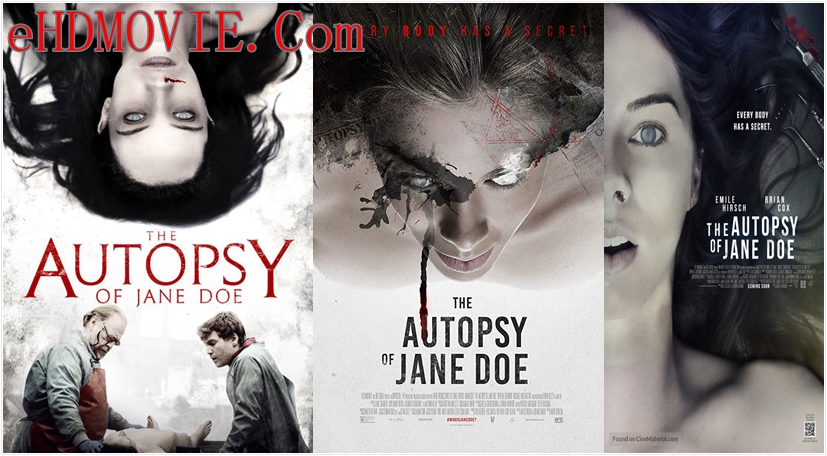 The Autopsy of Jane Doe 2016 English 720p – 480p ORG Blu-Ray 300MB – 700MB ESubs