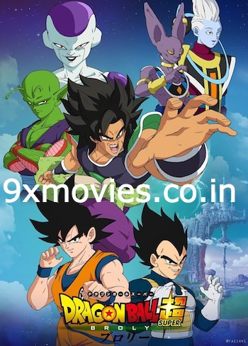 Dragon Ball Super Broly 2018 Dual Audio Hindi 480p BluRay 300MB