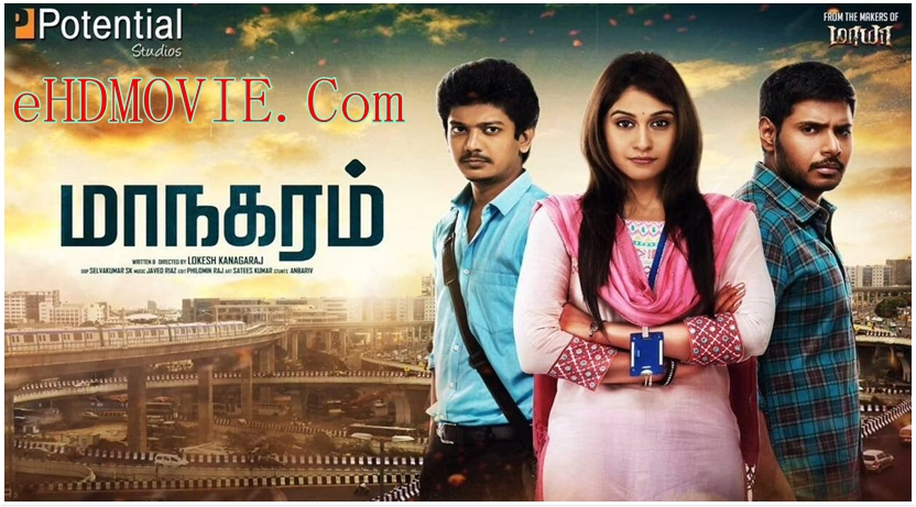 Maanagaram 2017 Dual Audio [Hindi – Tamil] 720p – HEVC – 480p ORG Blu-Ray – 450MB – 700MB – 1.6GB ESubs