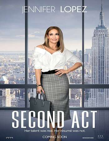 Second Act 2018 English 300MB NF Web-DL 480p MSubs
