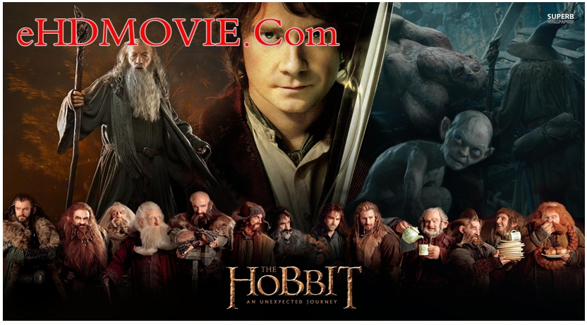 The Hobbit An Unexpected Journey 2012 Dual Audio [Hindi – English] 720p – HEVC – 480p ORG Blu-Ray – 550MB – 800MB – 2GB ESubs