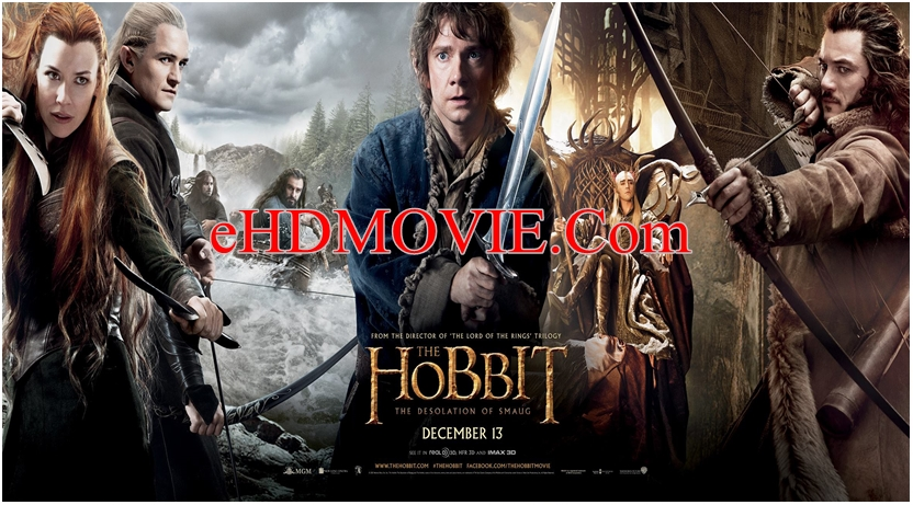 The Hobbit The Desolation Of Smaug 2013 Dual Audio [Hindi – English] 720p – HEVC – 480p ORG Blu-Ray – 650MB – 850MB – 2GB ESubs