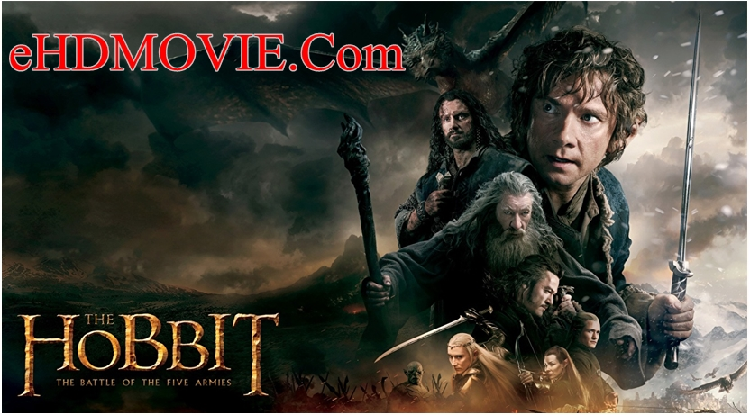 The The Hobbit The Battle of the Five Armies 2014 Dual Audio [Hindi – English] 720p – HEVC – 480p ORG Blu-Ray – 450MB – 650MB – 1.1GB ESubs