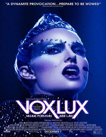 Vox Lux 2018 English 300MB BRRip 480p ESubs