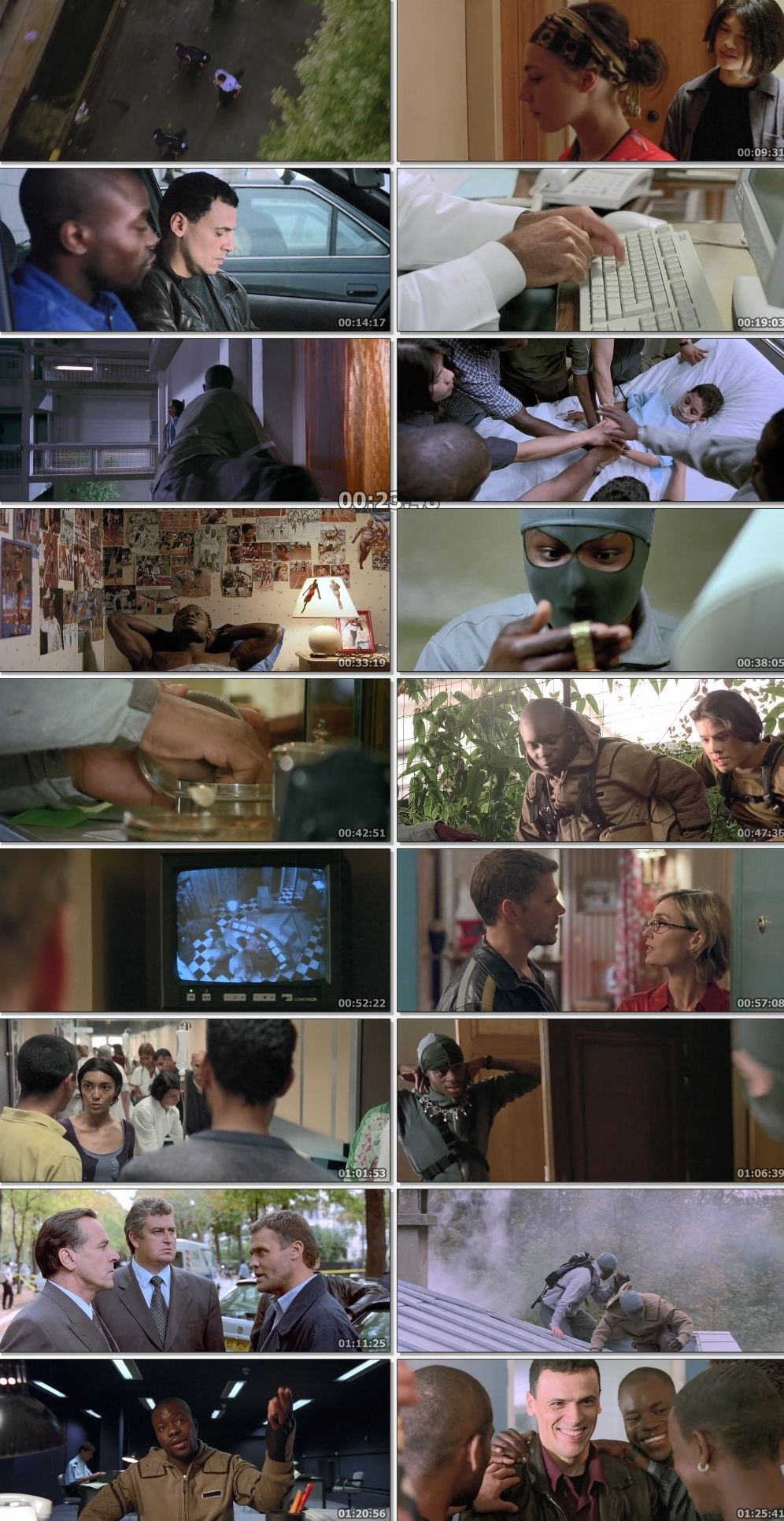 Yamakasi 2001 Dual Audio Hindi English BluRay Full Movie Download HD