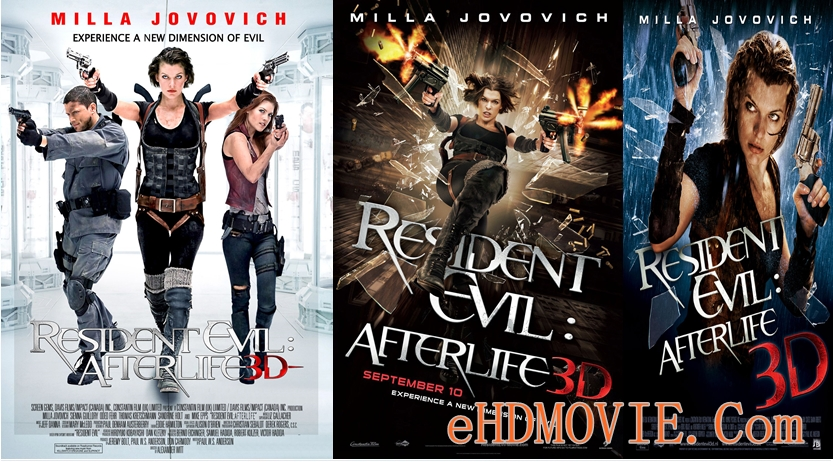 Resident Evil Afterlife 2010 Dual Audio [Hindi – English] 720p – 480p ORG Blu-Ray 350MB – 900MB ESubs