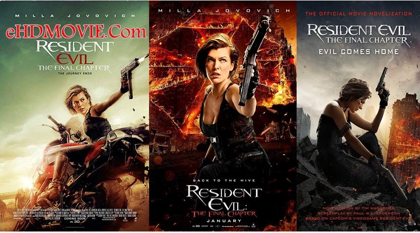 Resident Evil The Final Chapter 2016 Dual Audio [Hindi – English] 720p – 480p ORG Blu-Ray 350MB – 900MB ESubs
