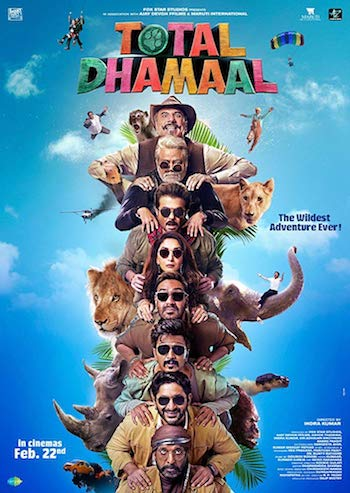 Total Dhamaal 2019 Hindi pDVDRip 700MB & 400MB