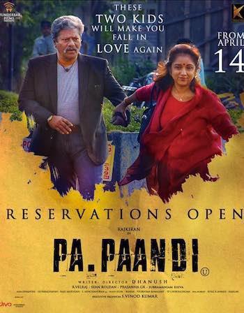 Pa Paandi 2017 UNCUT Dual Audio Hindi Full 300mb Download