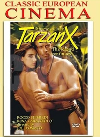 Tarzan-X: Shame of Jane (1995) Movie DVDRip 300MB