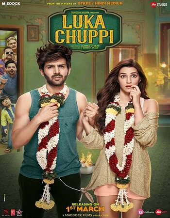 Luka Chuppi 2019 Full Hindi Movie 720p pDVDRip Free Download