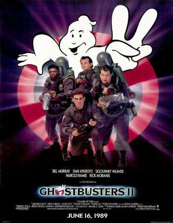 Ghostbusters II 1989 Hindi Dual Audio BRRip Full Movie 720p Download
