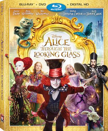 Alice Through The Looking Glass 2016 Dual Audio Hindi 720p BluRay 900mb