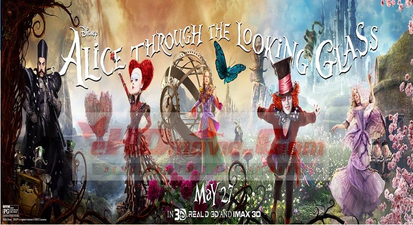 Alice Through the Looking Glass 2016 Dual Audio [Hindi – English] 720p – HEVC – 480p ORG Blu-Ray – 400MB – 600MB – 1.1GB ESubs