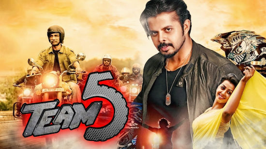 Team 5 (2019) Hindi Dubbed Movie Download