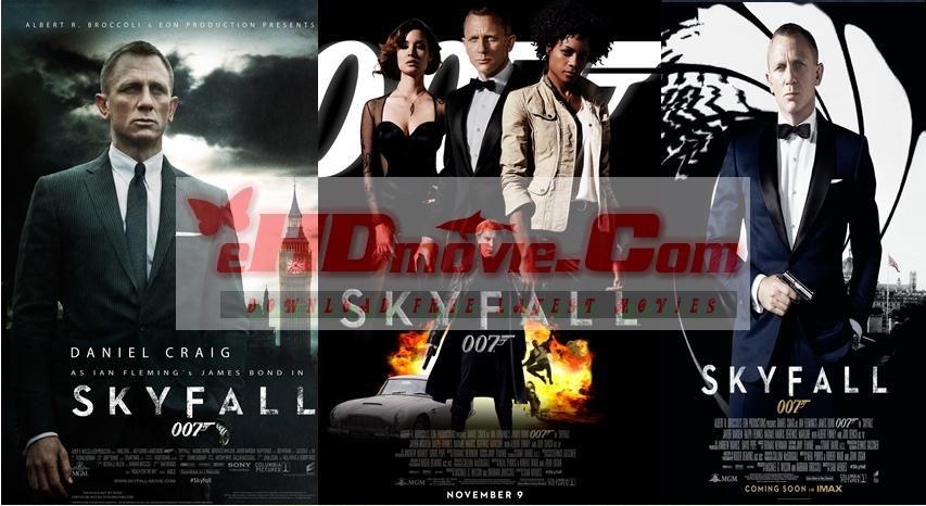 Skyfall 2012 Dual Audio [Hindi – English] 720p – 480p ORG Blu-Ray 450MB – 1GB ESubs