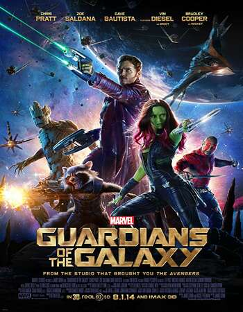 Guardians of the Galaxy 2014 Hindi Dual Audio BRRip Full Movie 480p Free Download
