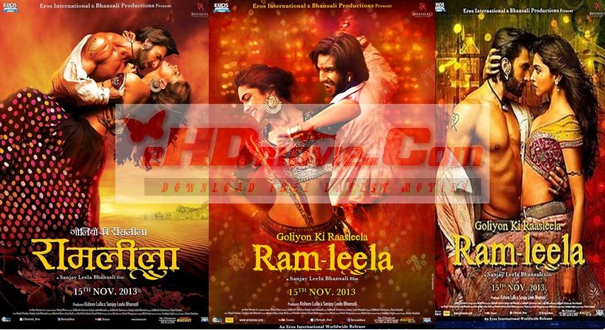 Goliyon Ki Rasleela Ram-Leela 2013 Hindi 720p – 480p ORG Blu-Ray 450MB – 1.2GB ESubs