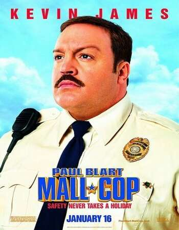 Paul Blart Mall Cop 2009 Hindi Dual Audio BRRip Full Movie 720p Download