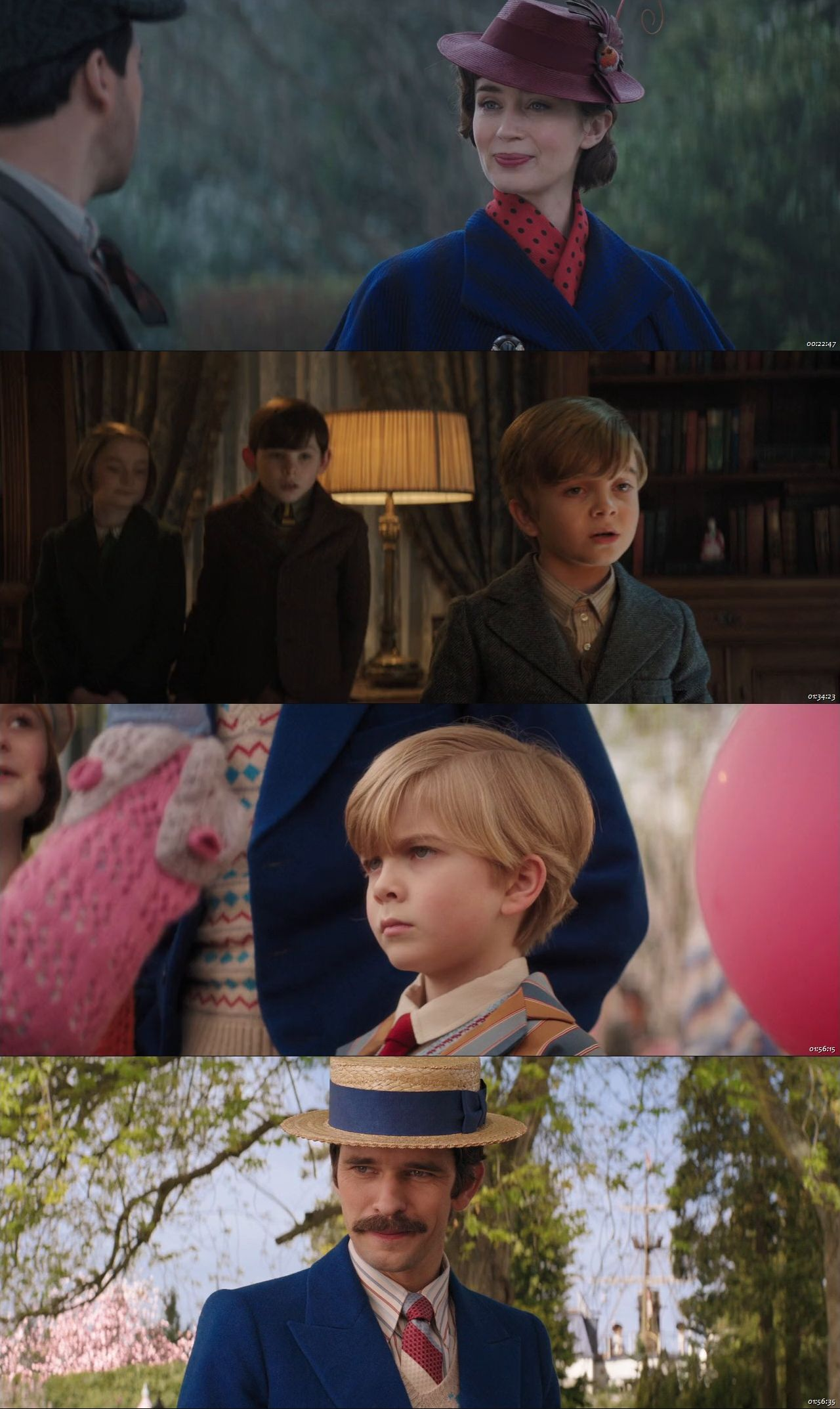 Mary Poppins Returns 2018 Dual Audio Hindi English BluRay Full Movie Download HD