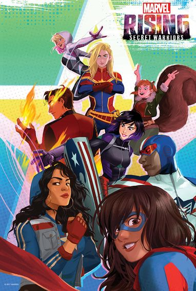 Marvel Rising Secret Warriors 2018 Dual Audio Hindi English BluRay Full Movie Download HD