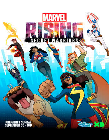 Marvel Rising Secret Warriors 2018 Hindi Dual Audio Web-DL Full Movie Download
