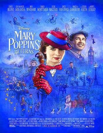 Mary Poppins Returns 2018 English 720p BRRip 999MB ESubs