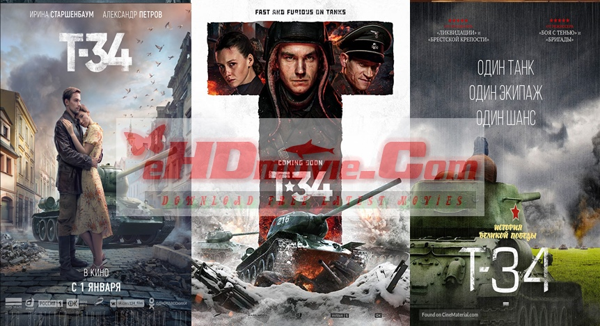 T-34 2018 English 720p – 480p ORG Blu-Ray 600MB – 1.2GB ESubs