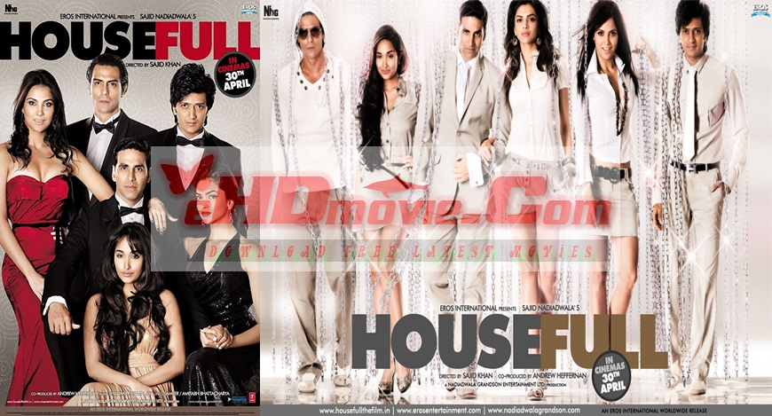 Housefull 2010 Hindi 720p – 480p ORG Blu-Ray 550MB – 1.2GB ESubs
