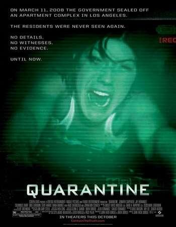Quarantine 2008 Hindi Dual Audio BRRip Full Movie 720p Download