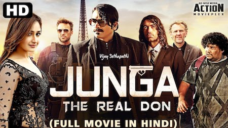 Junga The Real Don 2019 Hindi Dubbed 480p HDRip 350mb