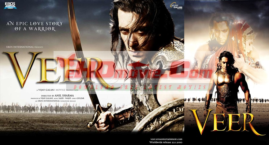Veer 2010 Hindi 720p – 480p ORG Blu-Ray 550MB – 1.2GB ESubs