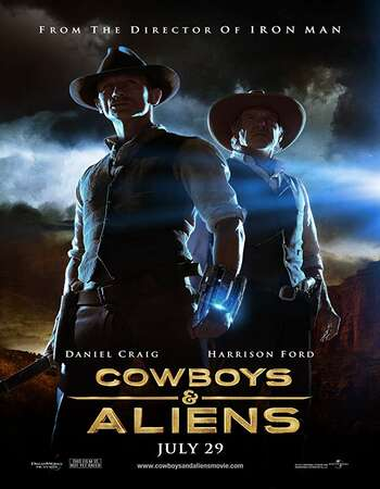 Cowboys And Aliens 2011 Hindi Dual Audio BRRip Full Movie 720p Download