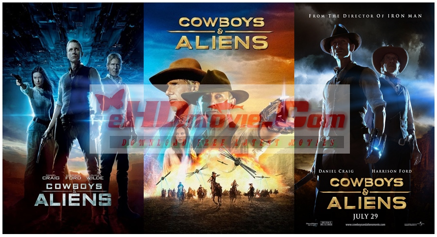 Cowboys And Aliens 2011 Dual Audio [Hindi – English] 720p – 480p ORG Blu-Ray 400MB – 1.2GB ESubs