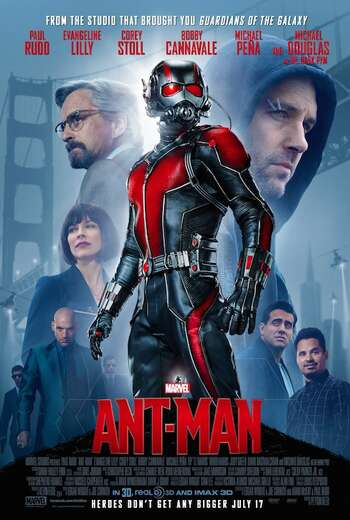 Ant-Man 2015 Hindi ORG Dual Audio 720p BluRay ESubs