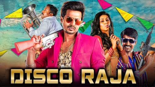 Disco Raja 2019 Hindi Dubbed 480p HDRip 300MB