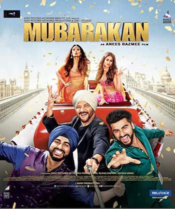 Mubarakan 2017 Hindi 720p BluRay 1.1GB