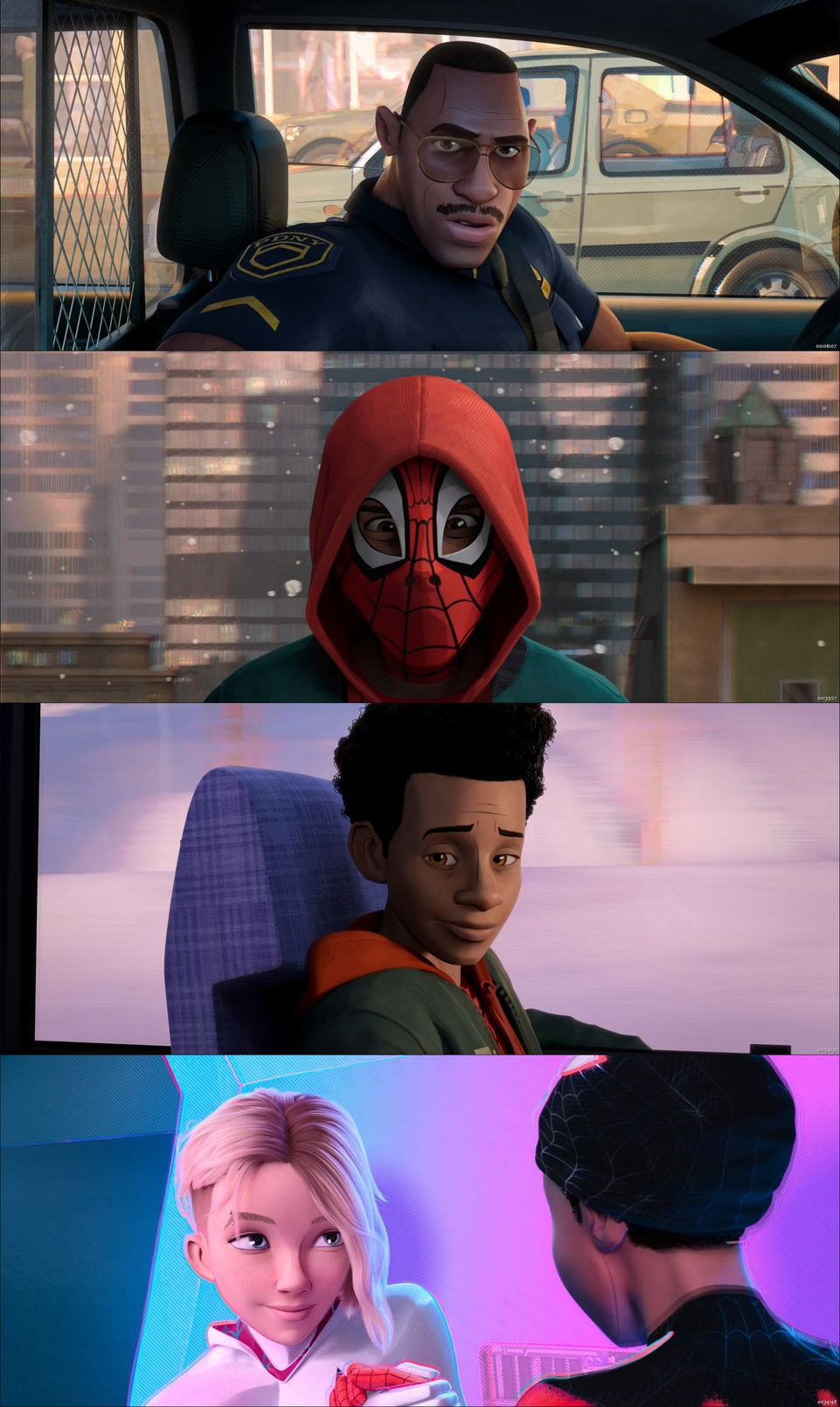 Spider-Man Into the Spider-Verse 2018 BluRay 350MB Dual Audio In Hindi 480p