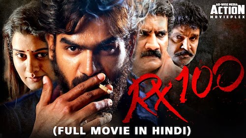 Rx 100 (2019) Hindi Dubbed 720p HDRip 850MB
