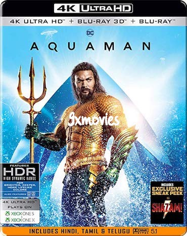 Aquaman 2018 Dual Audio ORG Hindi 720p BluRay 1.1GB