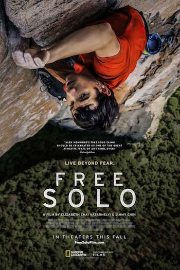 Free Solo 2018 English 720p BRRip 950MB ESubs