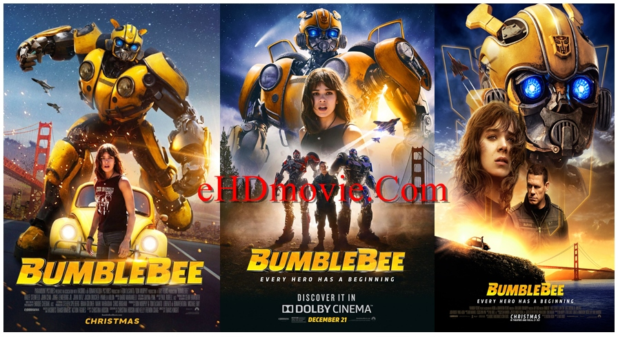 Bumblebee 2018 Dual Audio [Hindi – English] 1080p – 720p – 480p ORG WEB-DL 400MB – 600MB - 1GB – 2GB ESubs