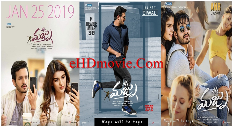 Mr. Majnu 2019 Telugu 720p – 480p ORG WEB-DL 400MB – 700MB – 1.4GB ESubs