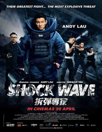 Shock Wave 2017 Hindi Dual Audio BRRip Full Movie 720p HEVC Download