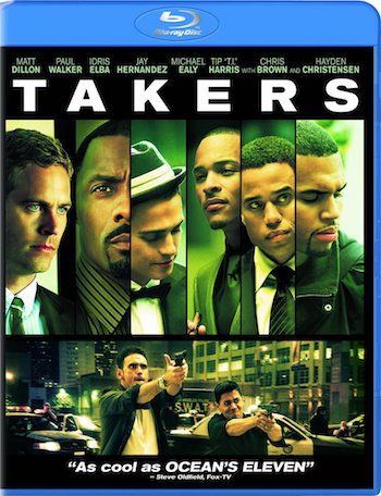 Takers 2010 Dual Audio Hindi 720p BluRay 990mb