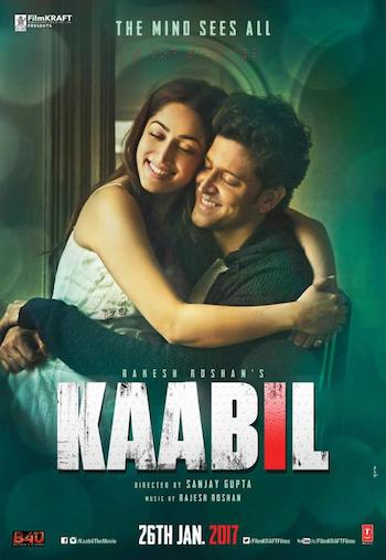 Kaabil 2017 Hindi Full 300mb Movie Download